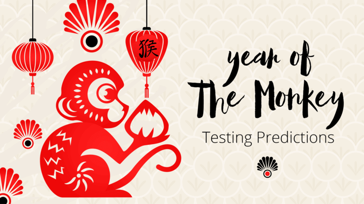 Software Tester's Chinese Zodiac: 2016, The Year of the Monkey header background image