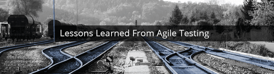 Lessons learned from agile testing Image
