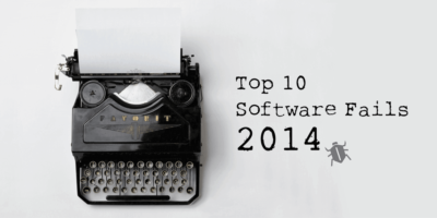 Top 10 Software Fails Of 2014
