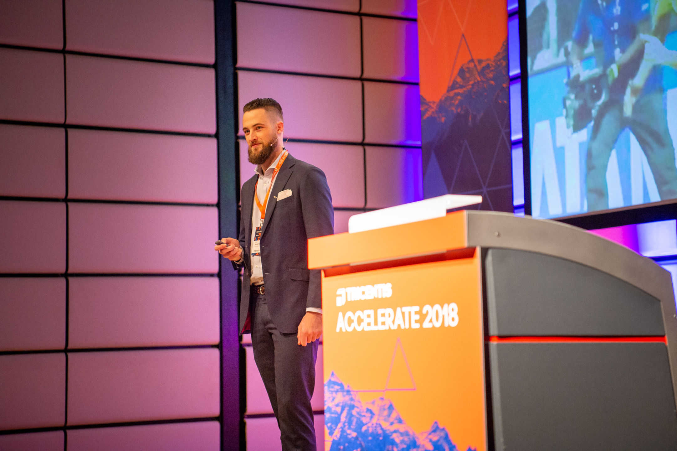 Load Testing at the Tricentis Accelerate 2018 Conference