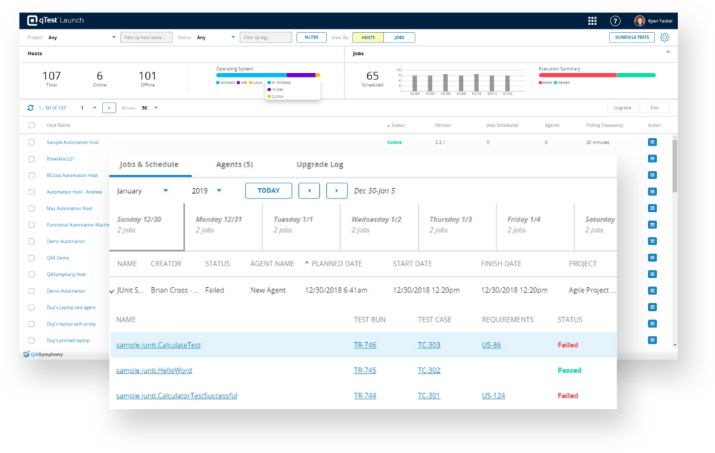 Centralized Test Automation Management Tool | Tricentis