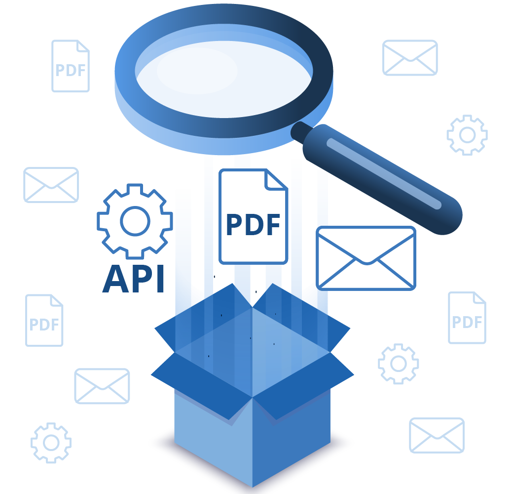 API, PDF, Mail Engine support