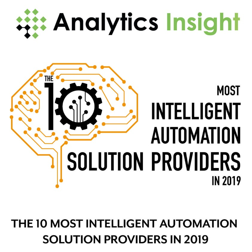 10 Most Intelligent Automation Solutions Providers in 2019