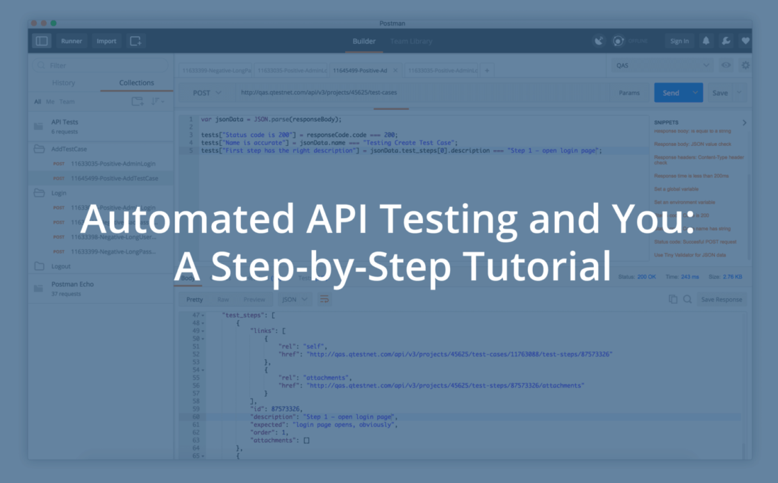 Api Test Automation Tutorial A Step By Step Guide Tricentis