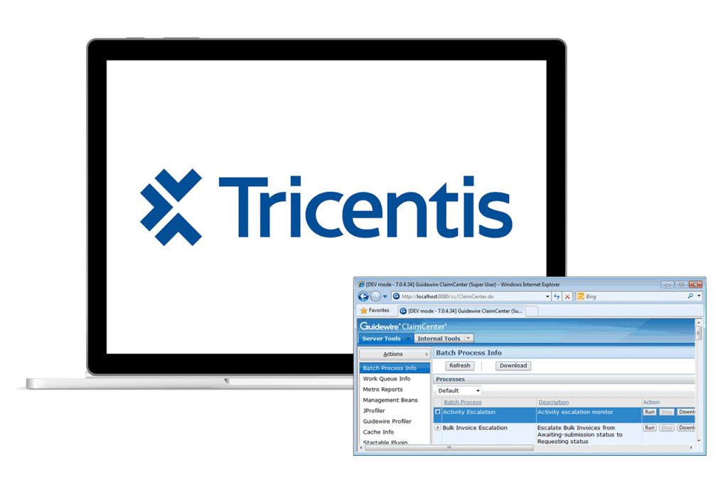 Tricentis offers a complete Guidewire technology package