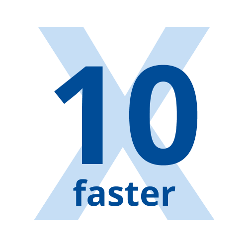 10X faster release cycles